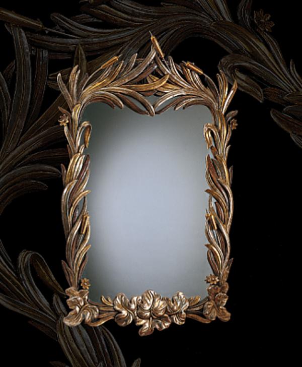 Specchio STILE LEGNO 1015 Momenti Arte