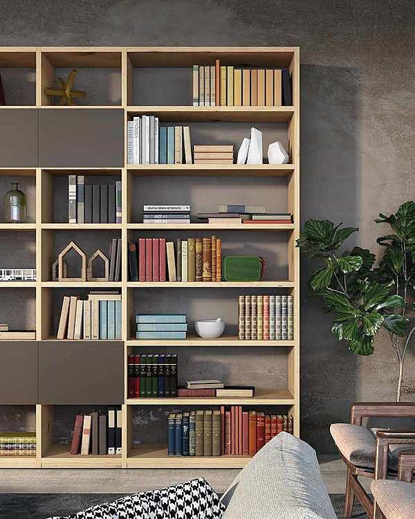 """Libreria granzotto a Composizione """"Libreria ROVERE JUPITER"""""""
