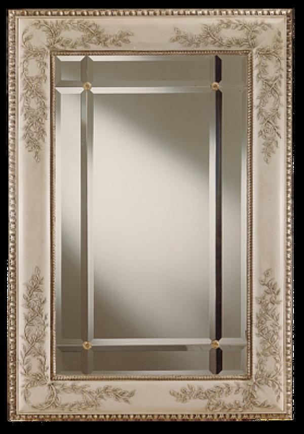 Specchio STILE LEGNO 1081 Momenti Arte