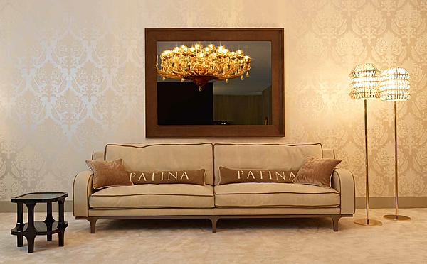Divano PATINA LC/S116 28 - LE CADRE DIVANO BASSO Glamour