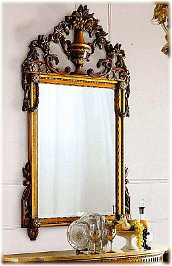 Specchio CAPPELLINI INTAGLI 208/S Mirror Catalogo copertina nero