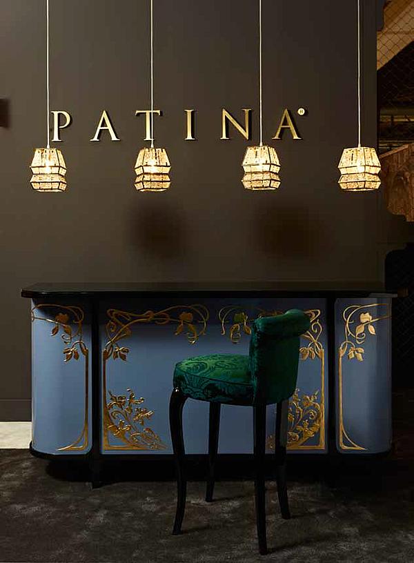 Sgabello da bar PATINA GL/S104 95 - GLAMOUR STOOL Glamour