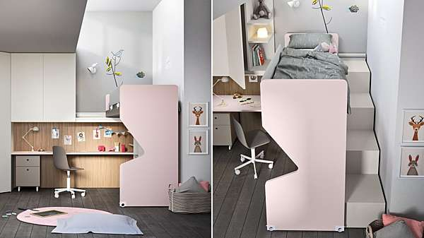 Camera per bambini nidi SLIDE