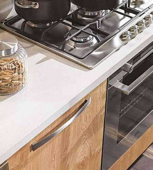 Cucina ARRIMOBILI Rovere naturale abete laccato metallo