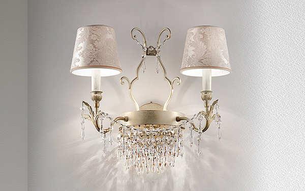 Lampade da muro MASIERO (EMME PI LIGHT) GLASSÉ A2+1 P01