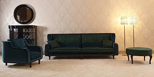 Divano PATINA LC/S115 28 - LE CADRE DIVANO ALTO Glamour