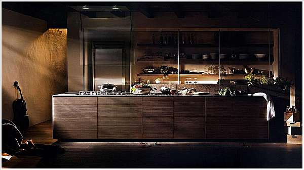 Cucina VALCUCINE Artematica Noce Tattile