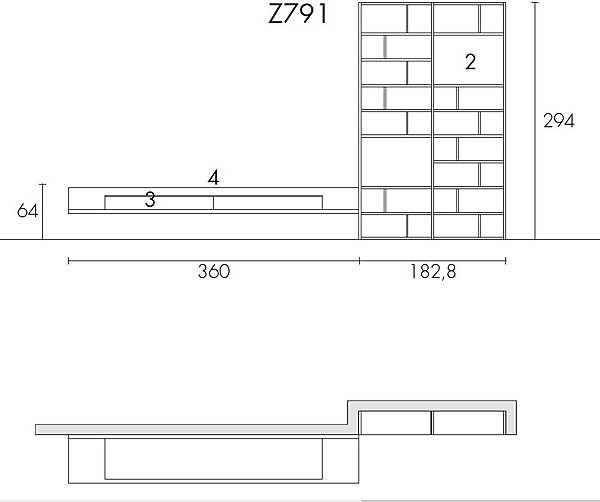 Muro ZALF progetto Z791