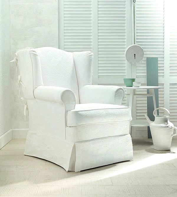 Poltrona TRECI SALOTTI HAPPY White & Soft