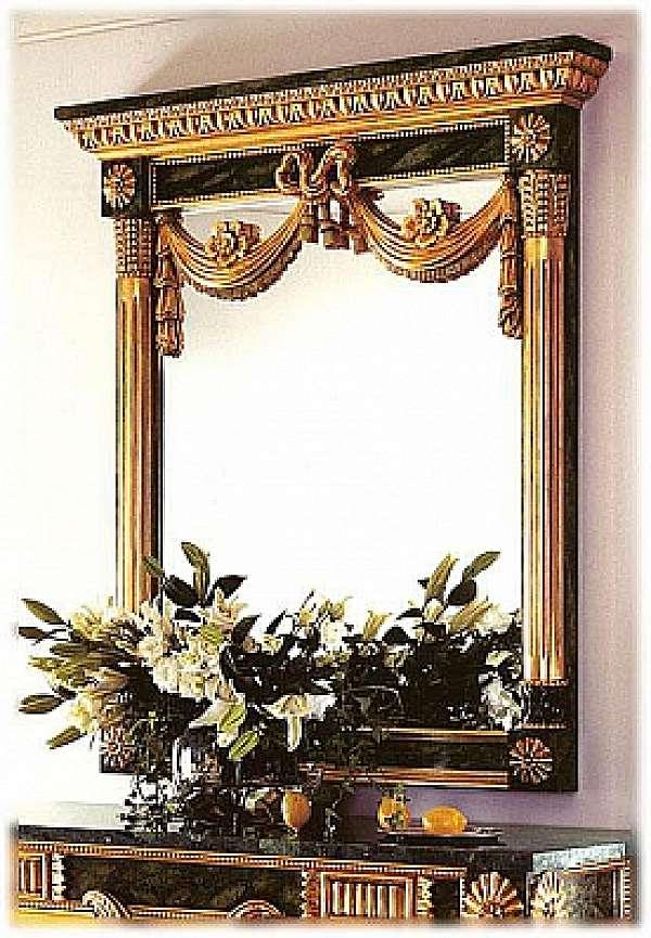 Specchio CAPPELLINI INTAGLI 265/S Mirror Catalogo copertina nero