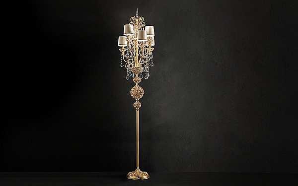 Lampada da terra MASIERO (EMME PI LIGHT) Silver Imperial / StL6