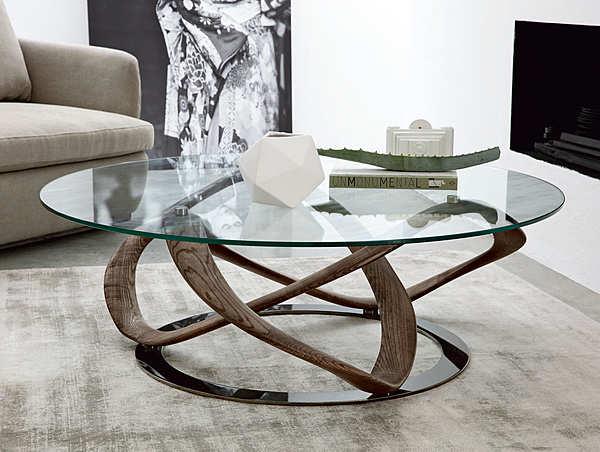 Tavolino PORADA Infinity tavolino tondo LOGOS