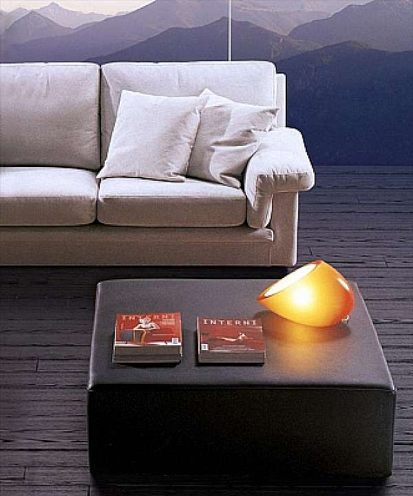 Pouf ASNAGHI SNC Elegant Made in Italy