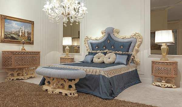 Letto FRATELLI RADICE Модель 016 Продукт двуспальная кровать изголовье и рама CATALOGO III