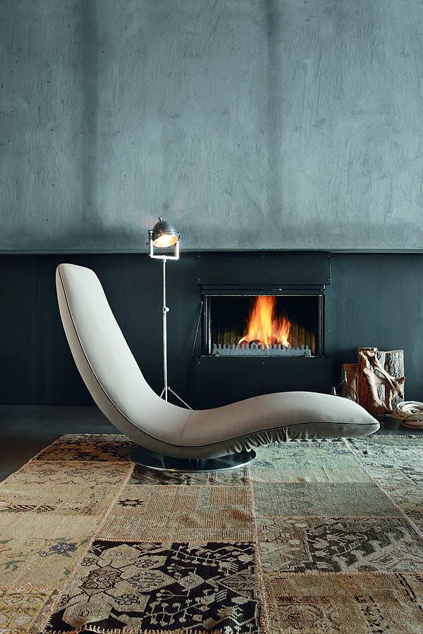 Chaise lounge TONIN CASA RICCIOLO - 7865 Life Style