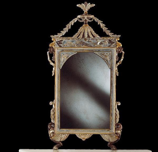 Specchio STILE LEGNO 1059 Momenti Arte