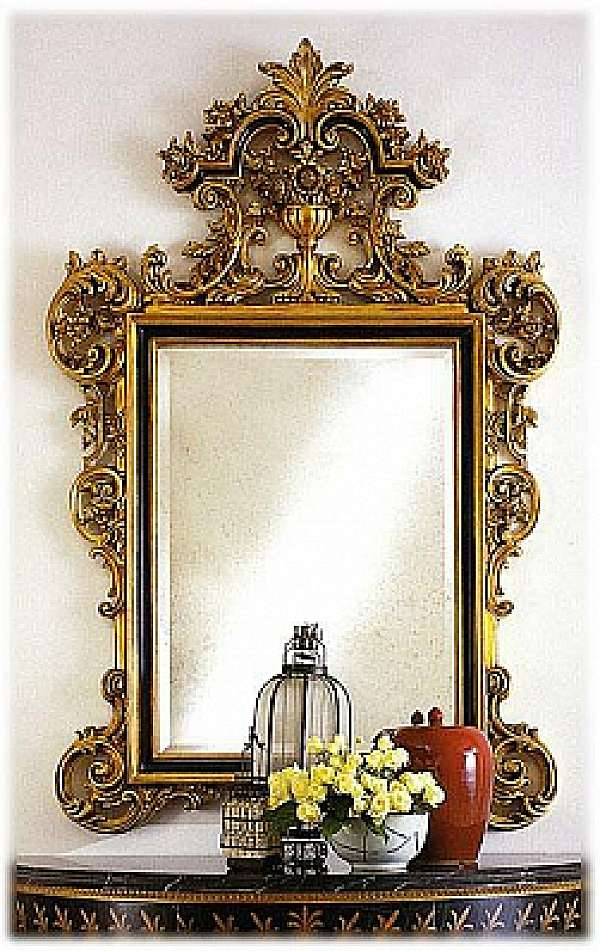 Specchio CAPPELLINI INTAGLI 620/S Catalogo copertina nero