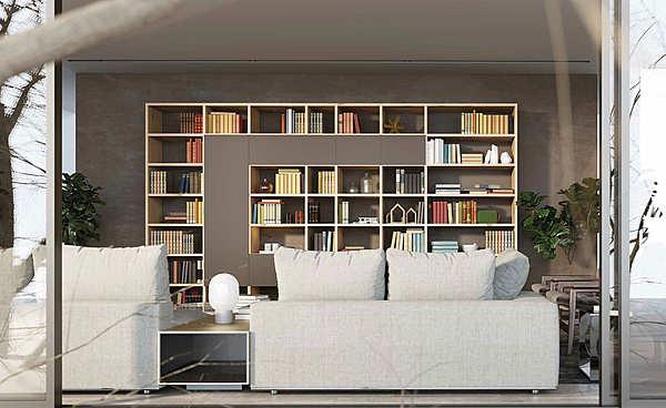 """Libreria GRANZOTTO Composizione """"Libreria ROVERE JUPITER"""" GRIFF"""