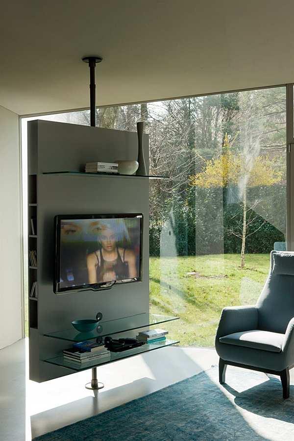 Supporto TV-hi-FI PORADA Media Centre a soffitto