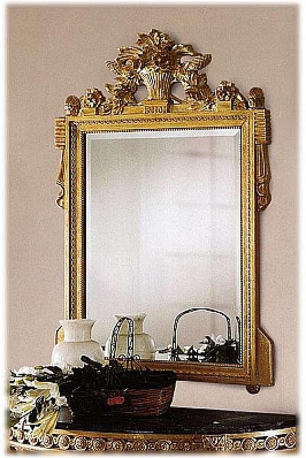 Specchio CAPPELLINI INTAGLI 205/S Mirror Catalogo copertina nero