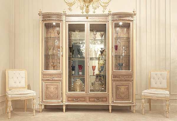 Vetrina FRATELLI RADICE Модель 104 Продукт витрина 4 двери с 2 длинными центральными створками CATALOGO III